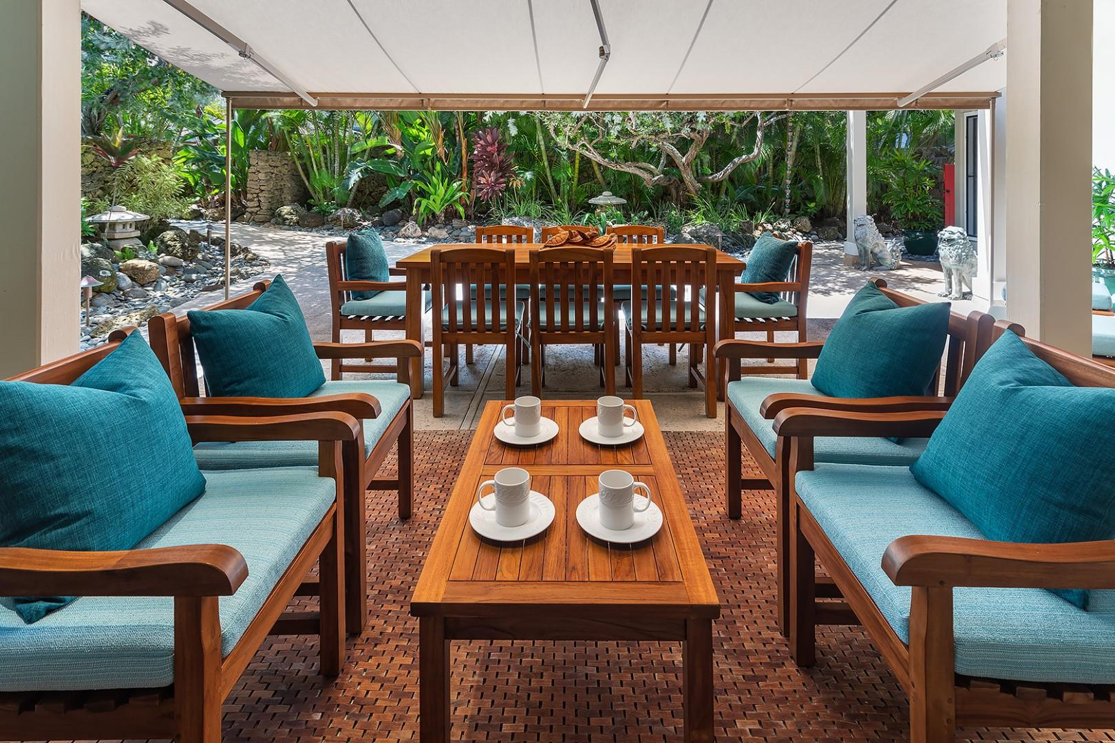 Main House - Outdoor Dining