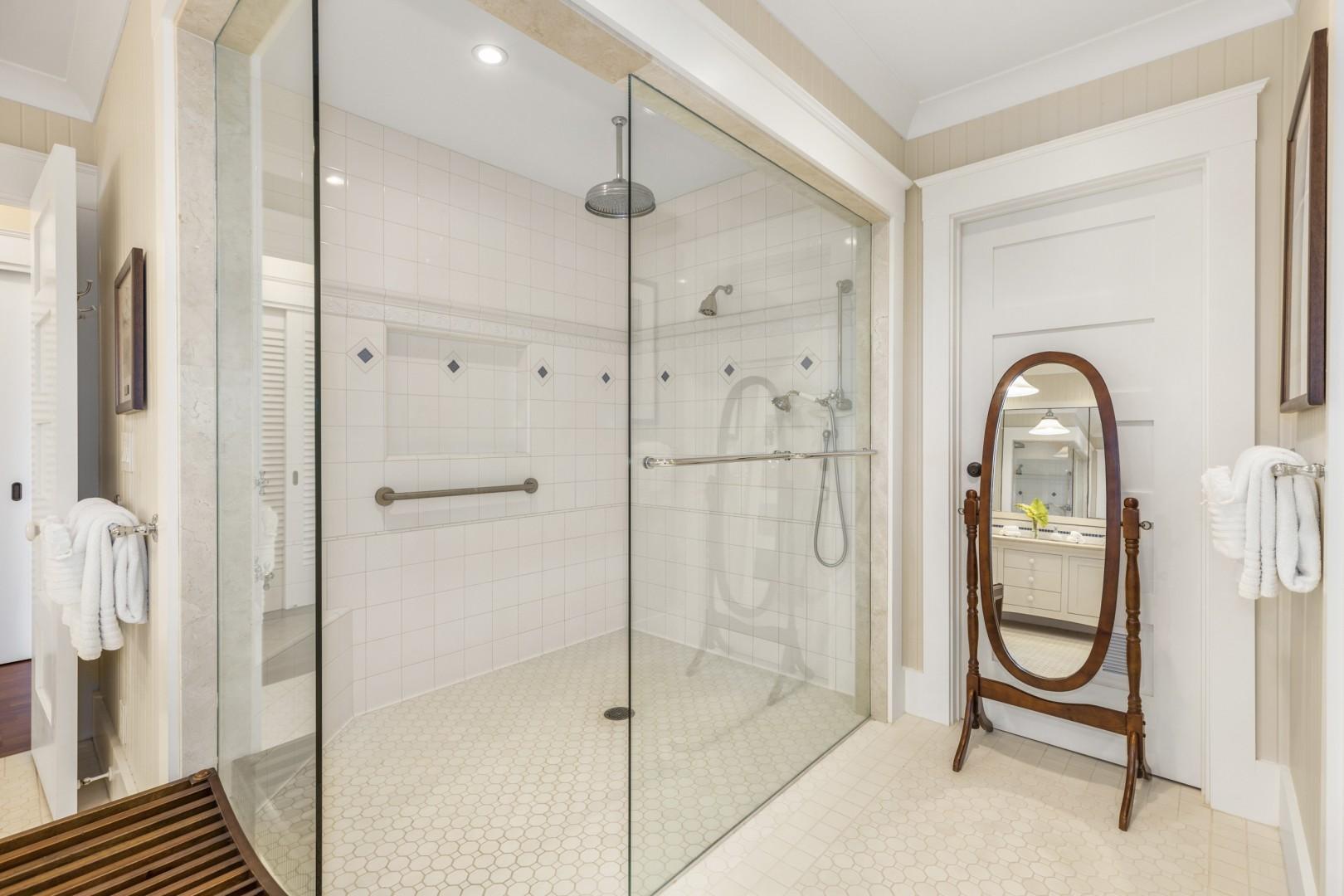 Kapa Suite walk-in shower