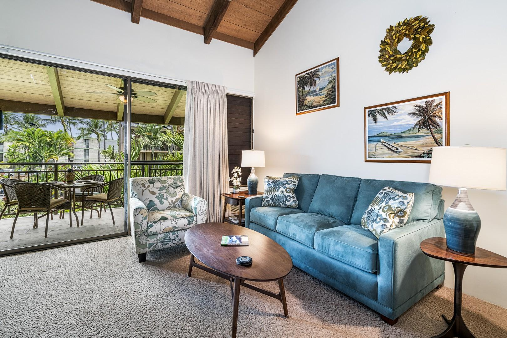 Comfortable living room for our guests enjoyment