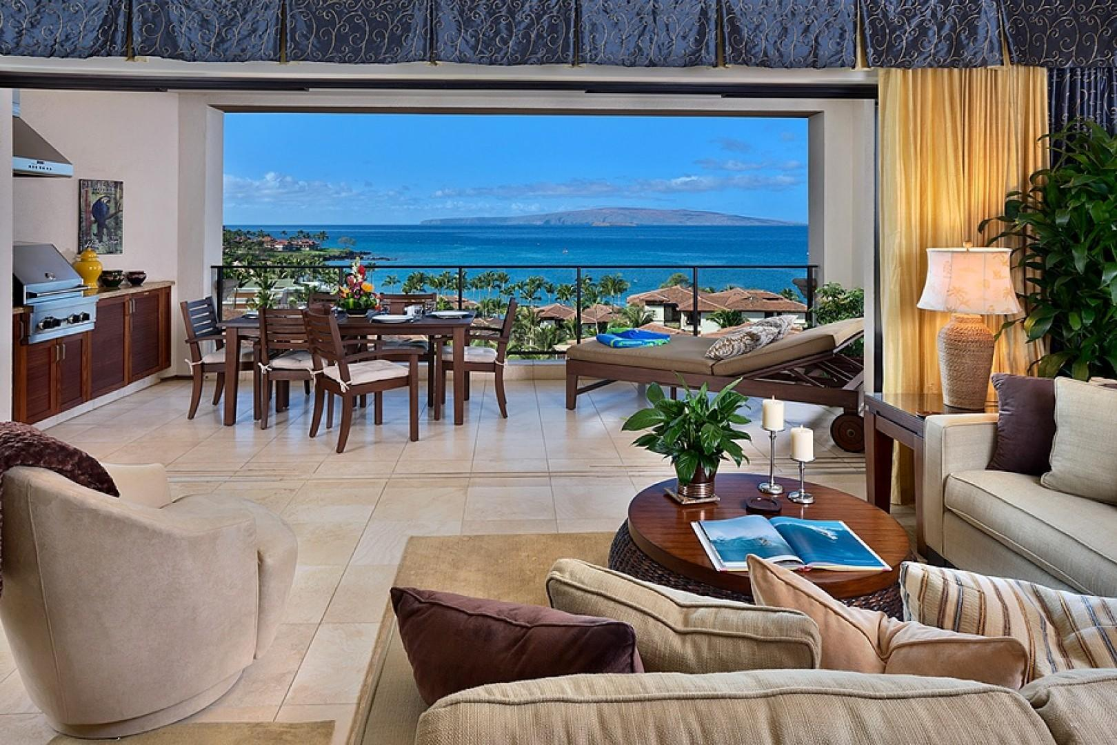 At Sandy Surf K508 - An Elegant Great Room and Priceless View!