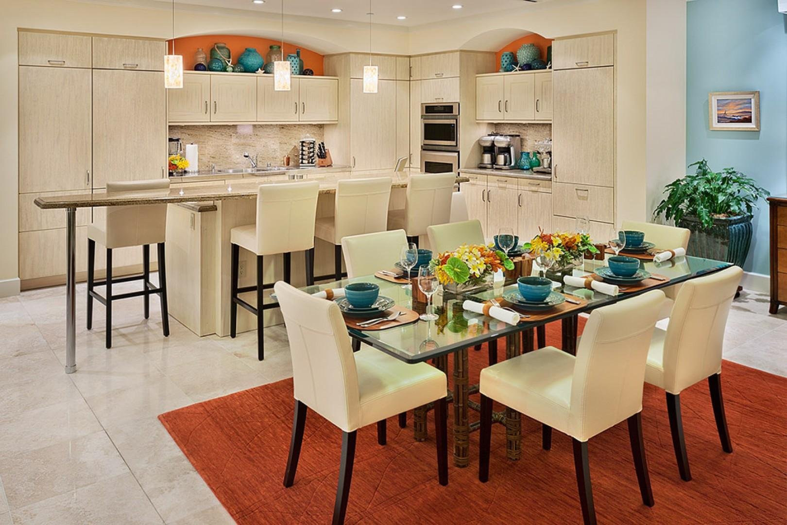 K507 Wailea Seashore Suite - Chef's Kitchen with Everything You May Need to Cook