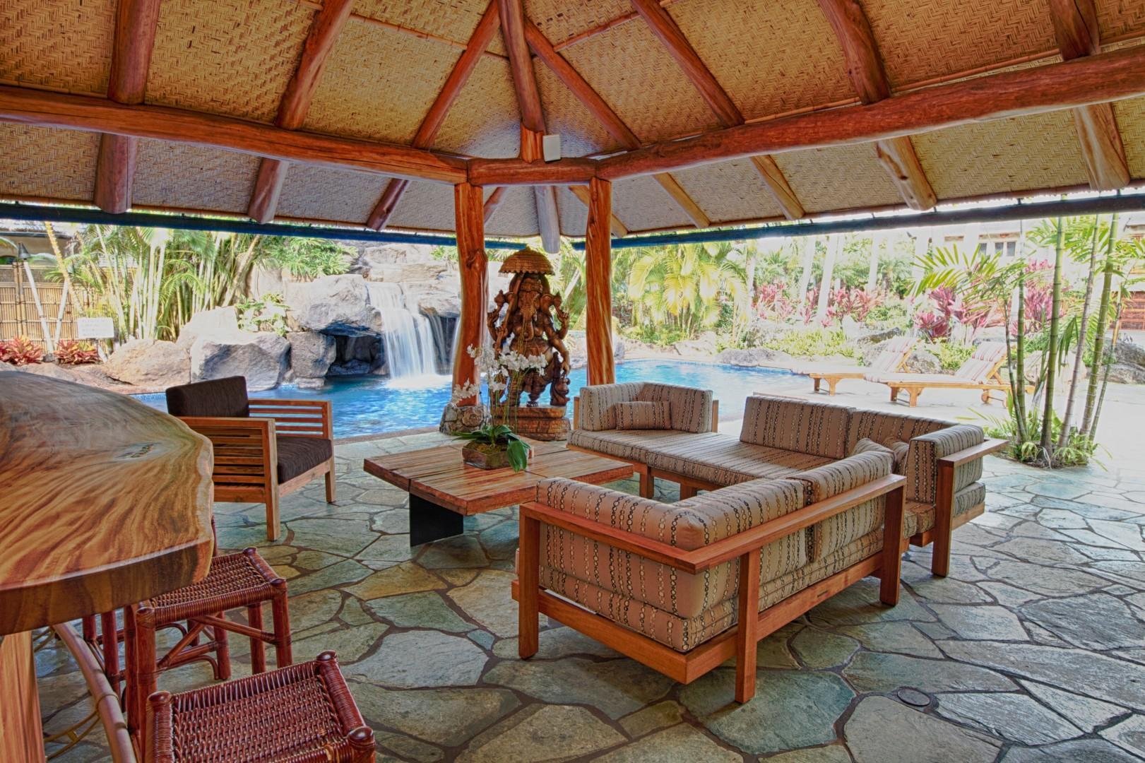 Newly upgraded Pool House