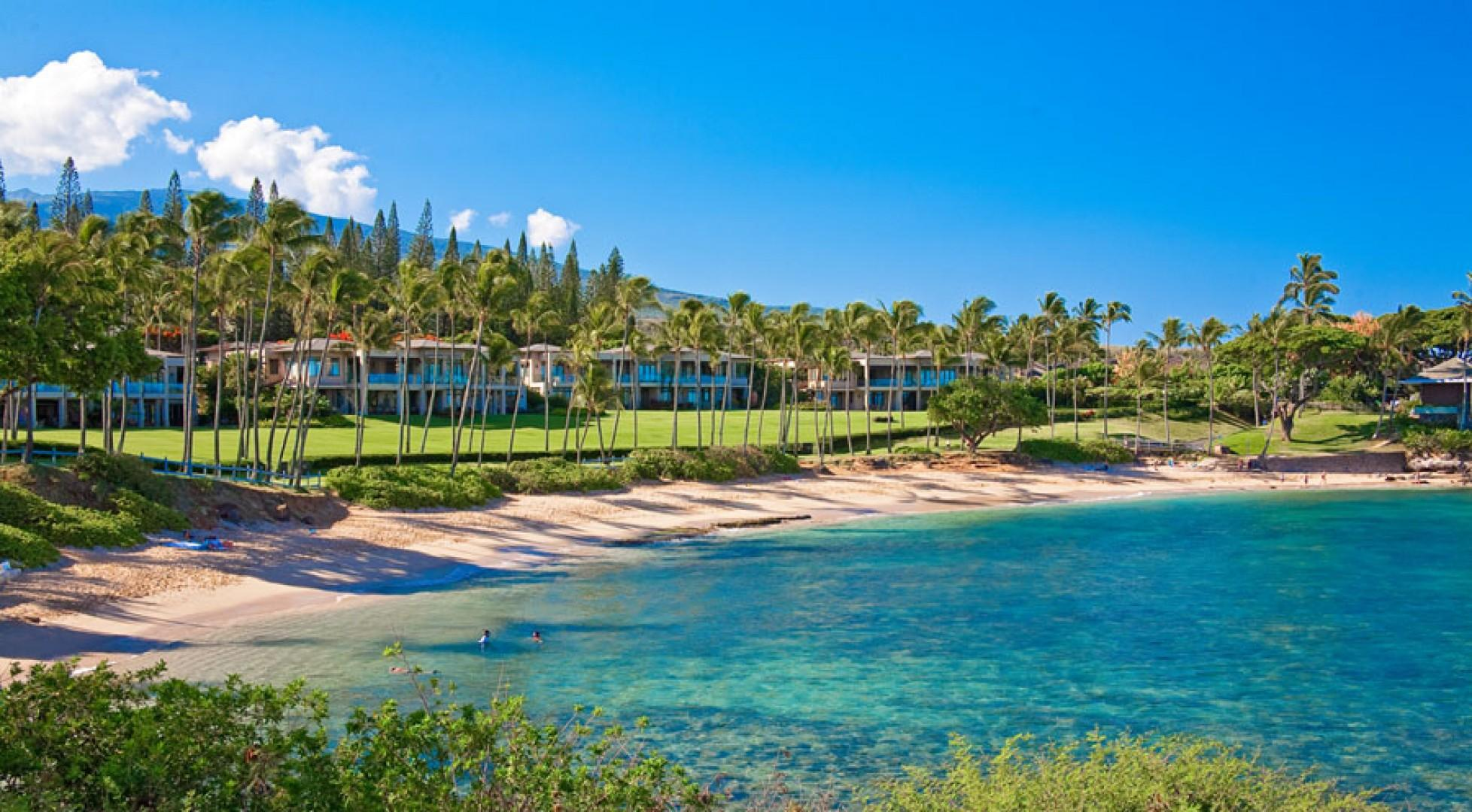 The Calm Waters of Kapalua Bay and Beach
