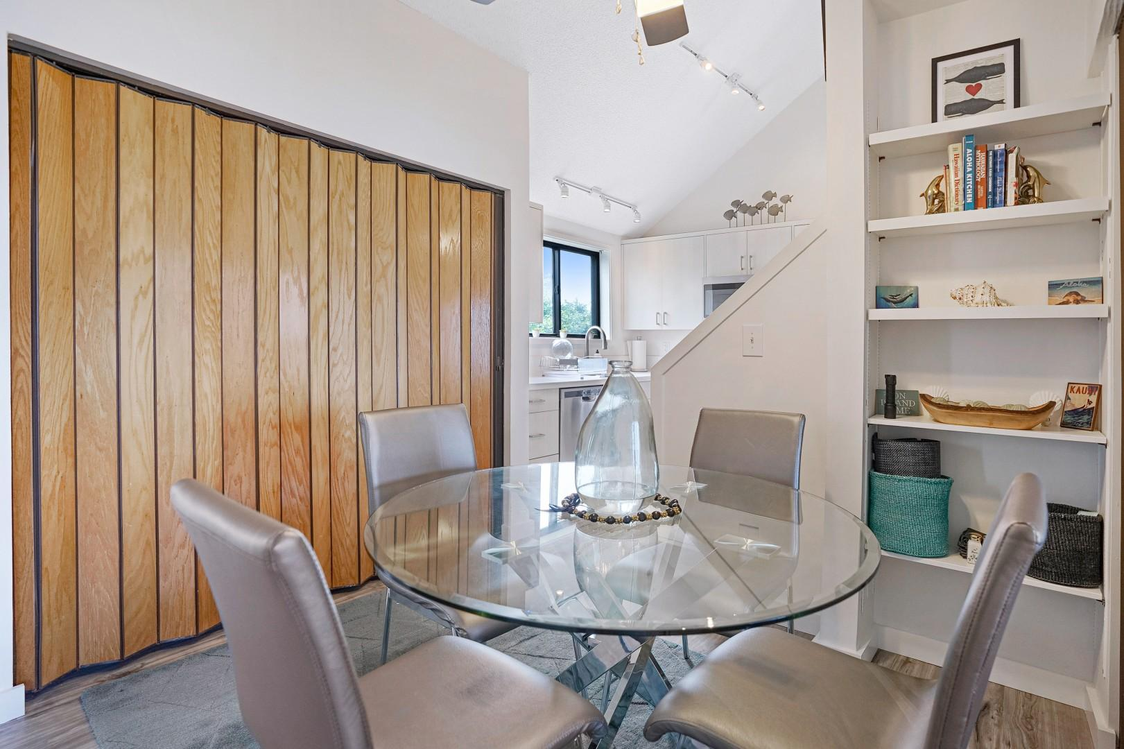 Dining space for four