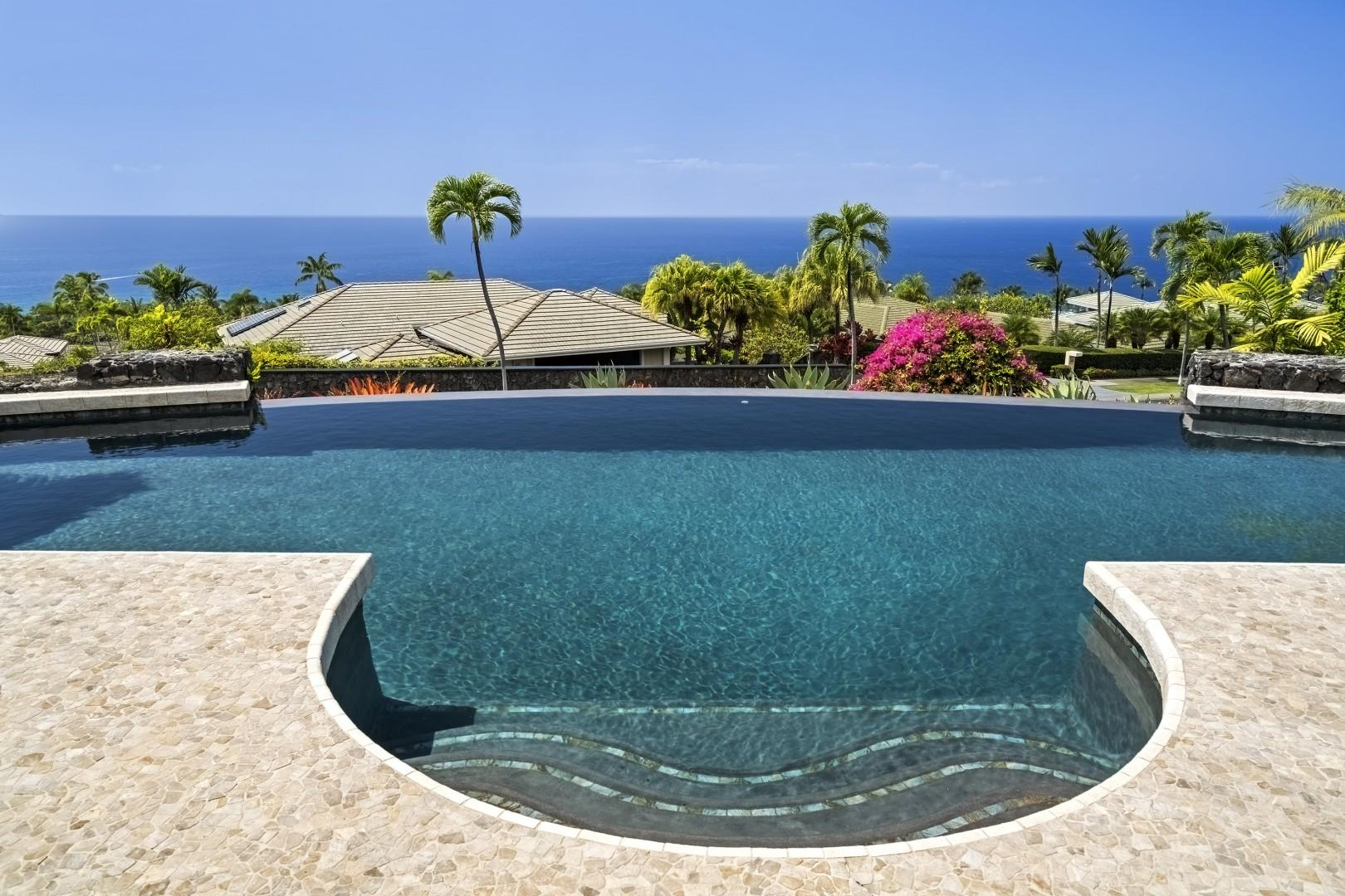 Breathtaking view from the pool and Lanai