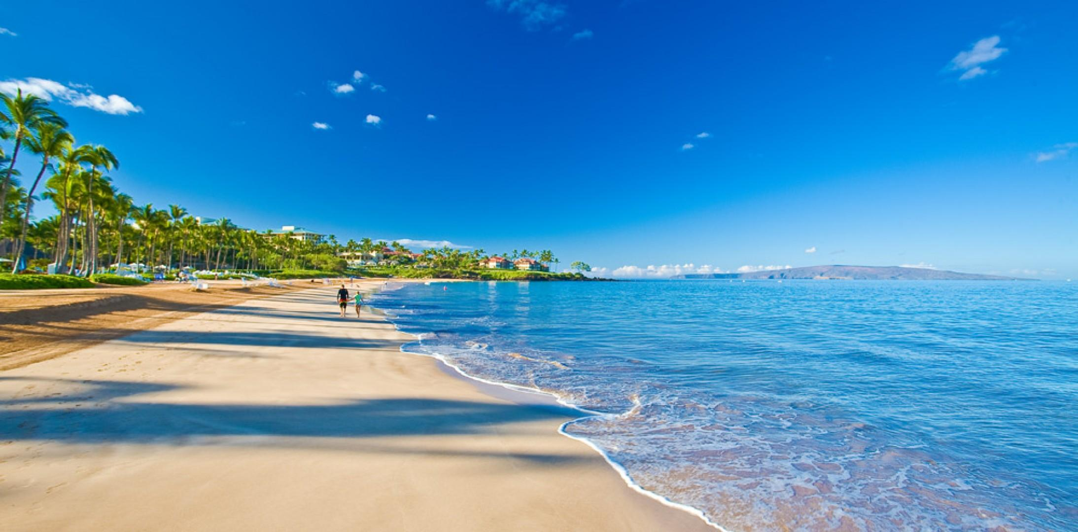 Famous Wailea Beach, which can be accessed directly from Wailea Beach Villas!