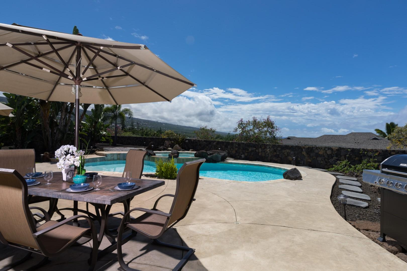 Private Pool & Outdoor Seating