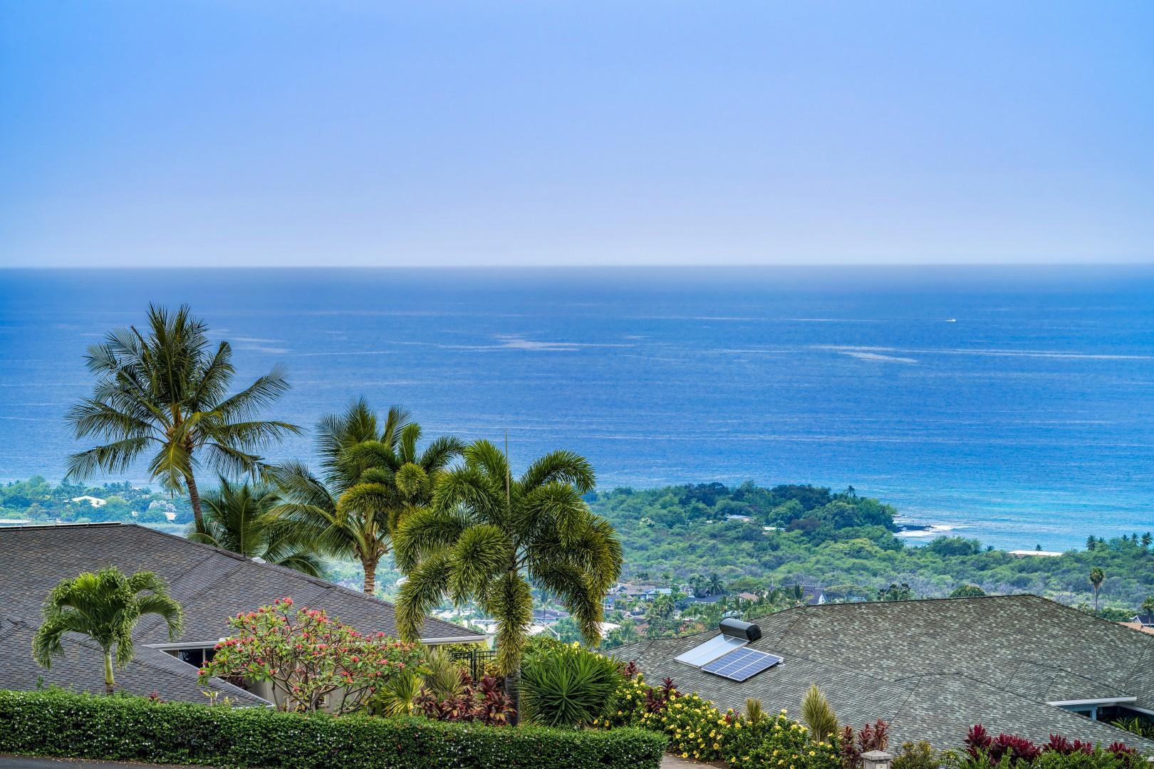 Panoramic views from the Lanai!