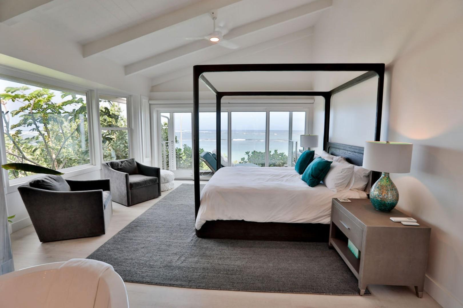 2nd Master Bedroom with beautiful ocean views