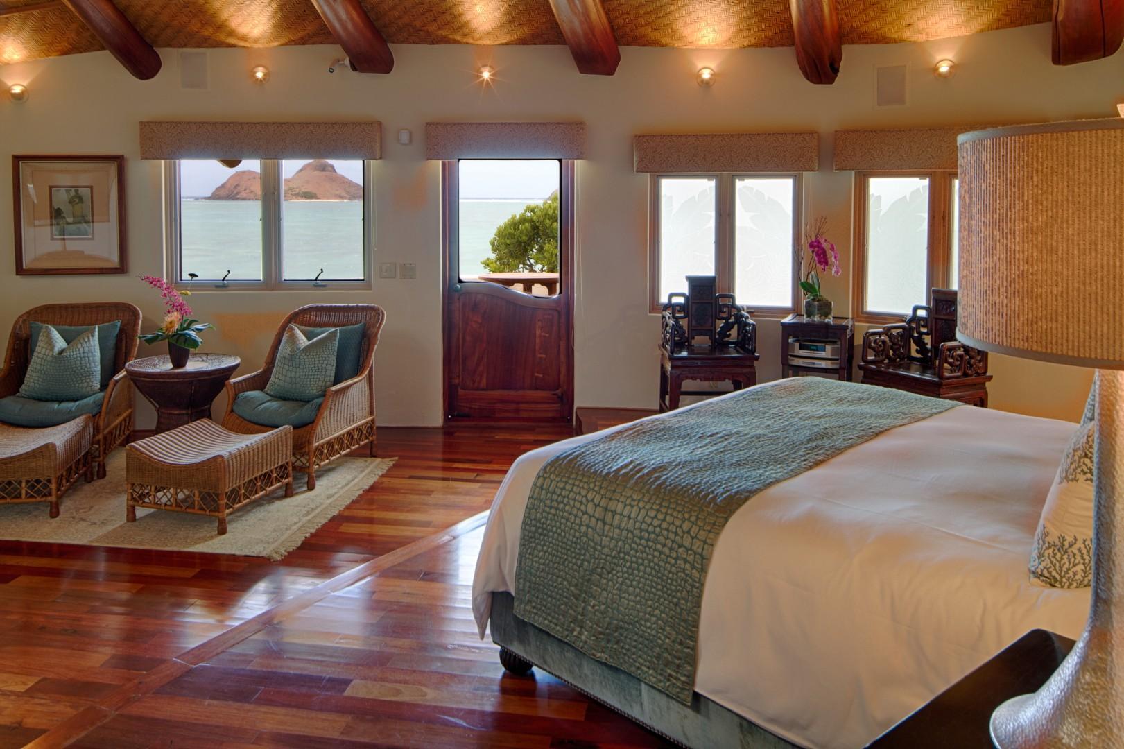 Ocean view in Master Bedroom