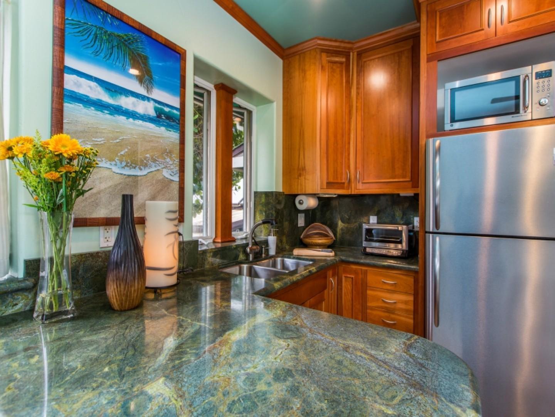 Private suite kitchen.