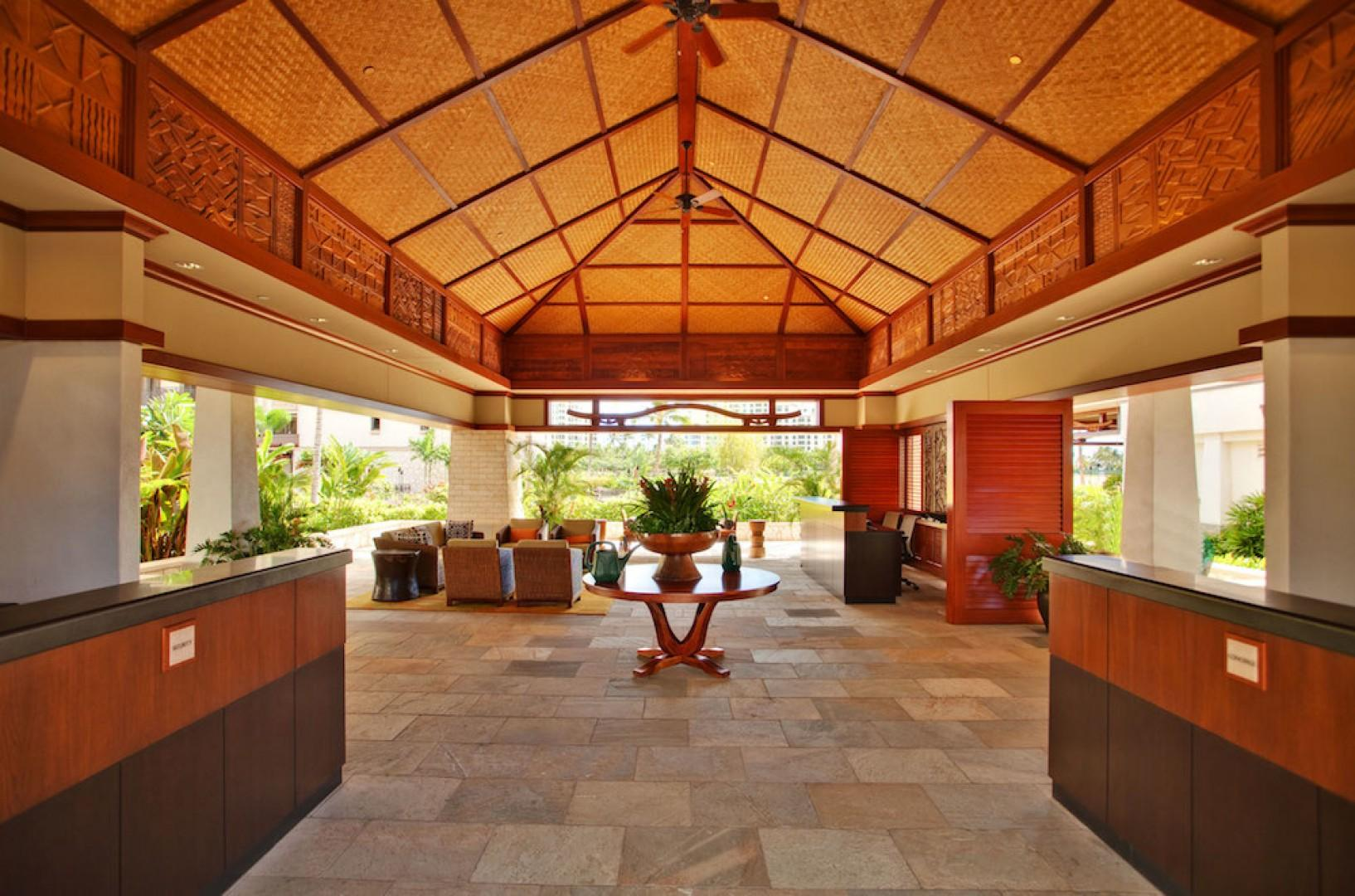 Lobby of the Beach Villas