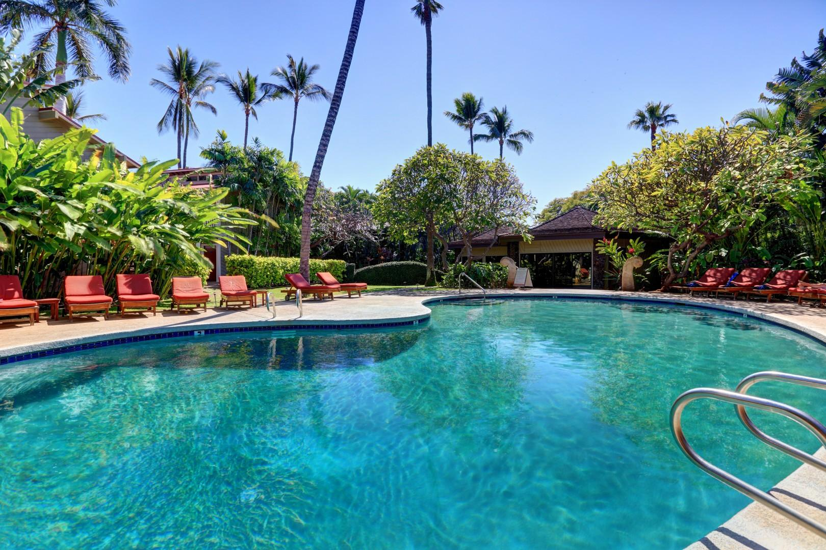 One of the community pools at Aina Nalu.