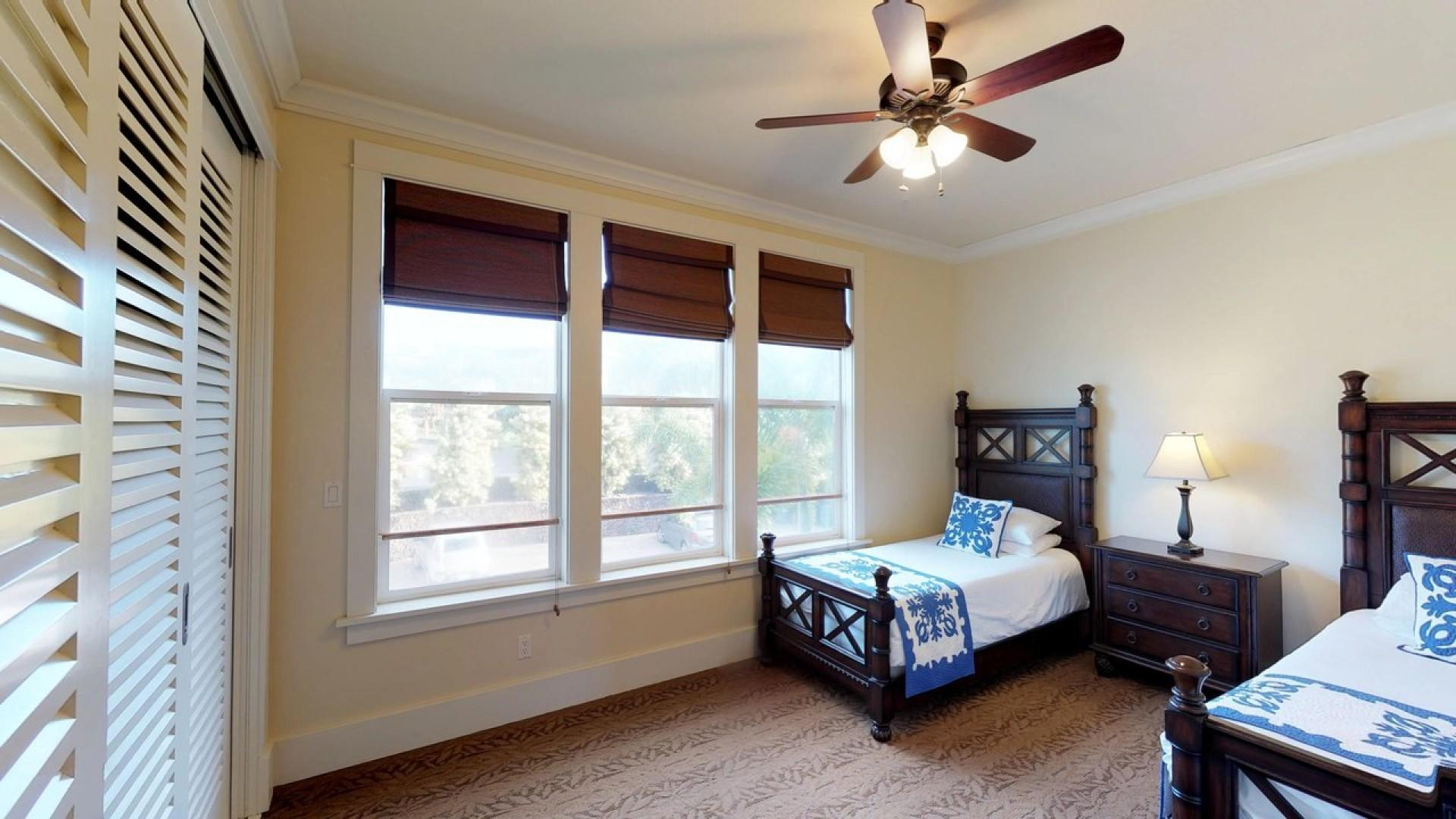 3rd Bedroom With Two Twins
