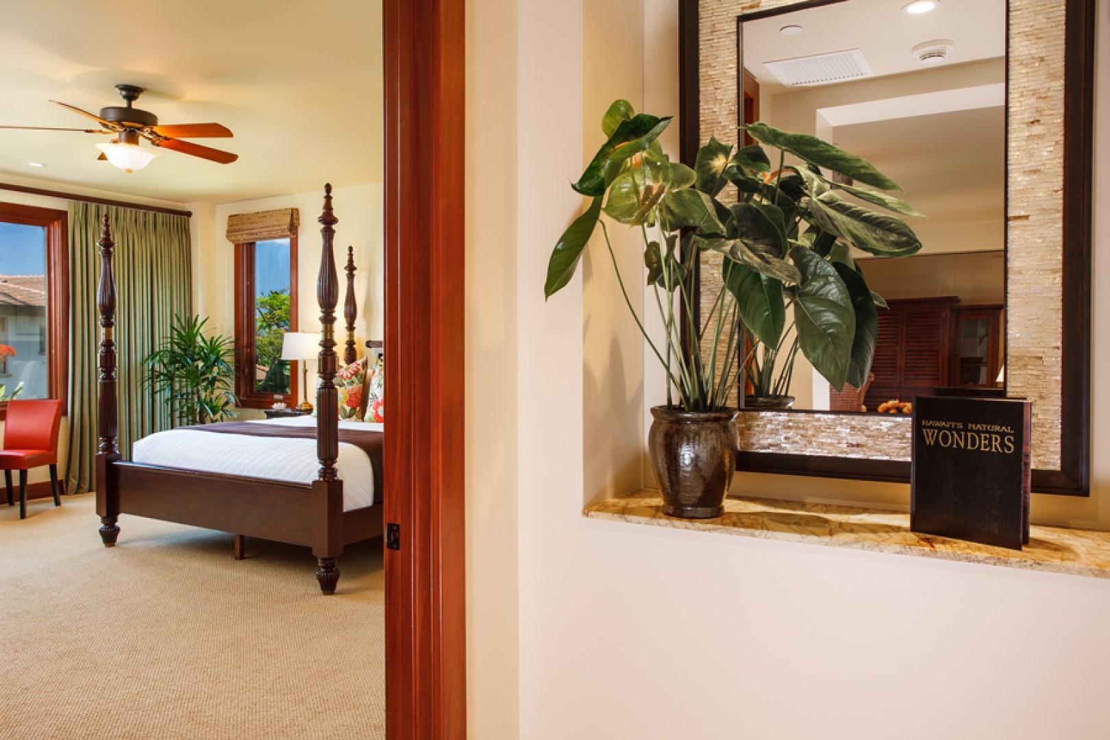 Castaway Cove C201 - Ocean View Master Bedroom Entrance
