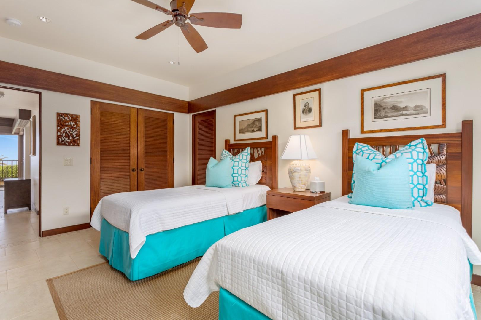 Alternate view of third bedroom.