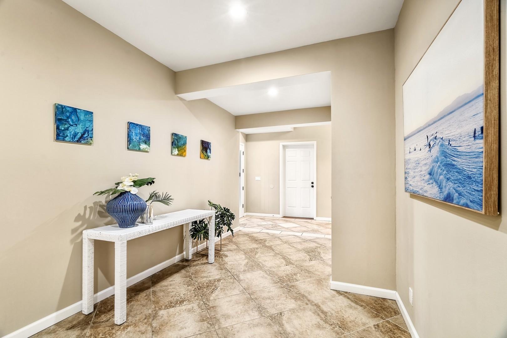 Foyer at Lymans Bay Hale