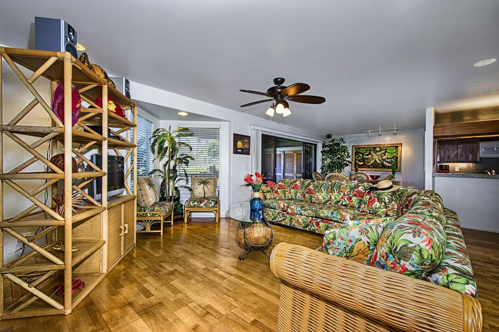 Enjoy central A/C in every room of this condo!