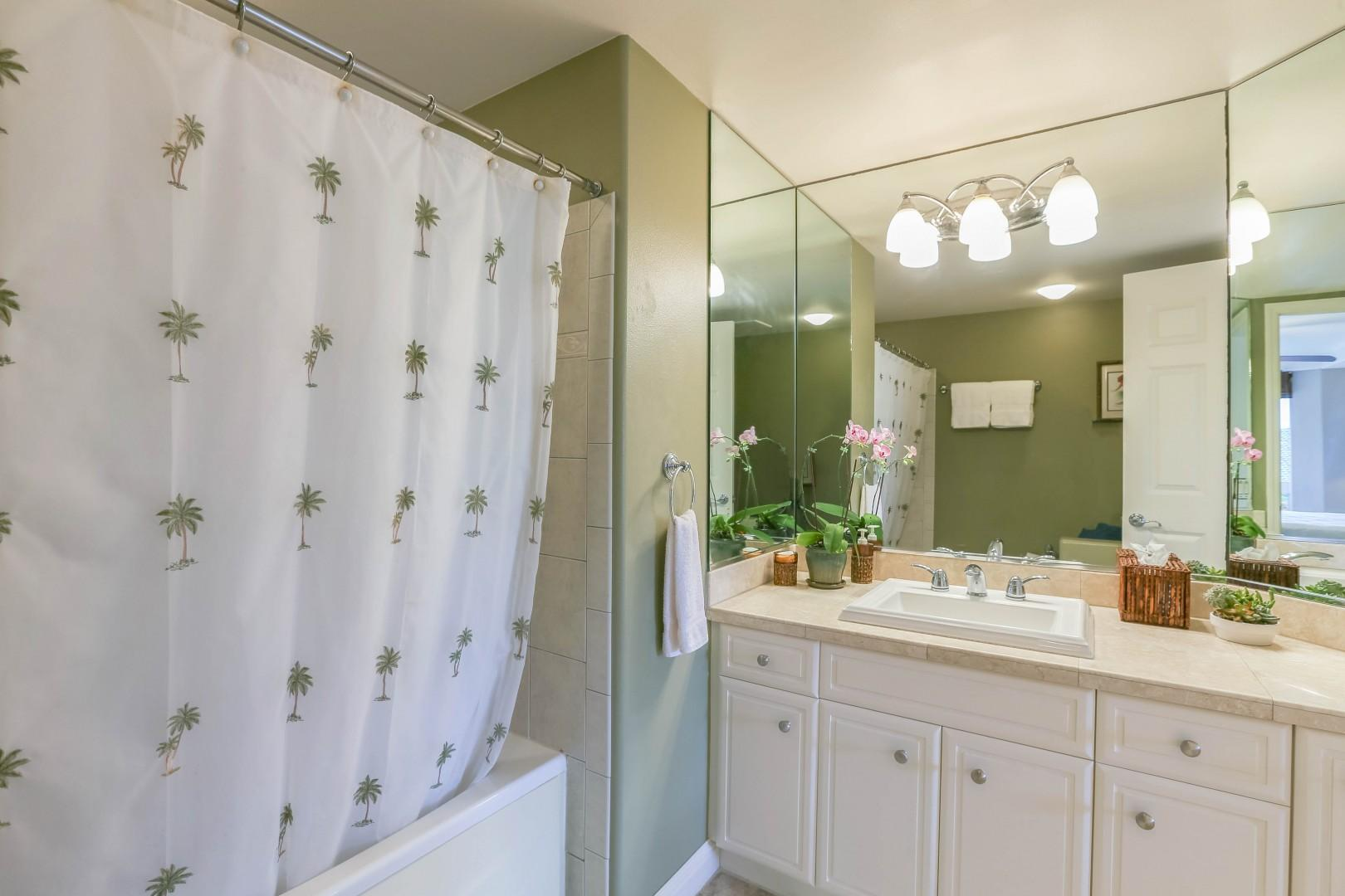 Ensuite Bathroom with Jacuzzi Tub