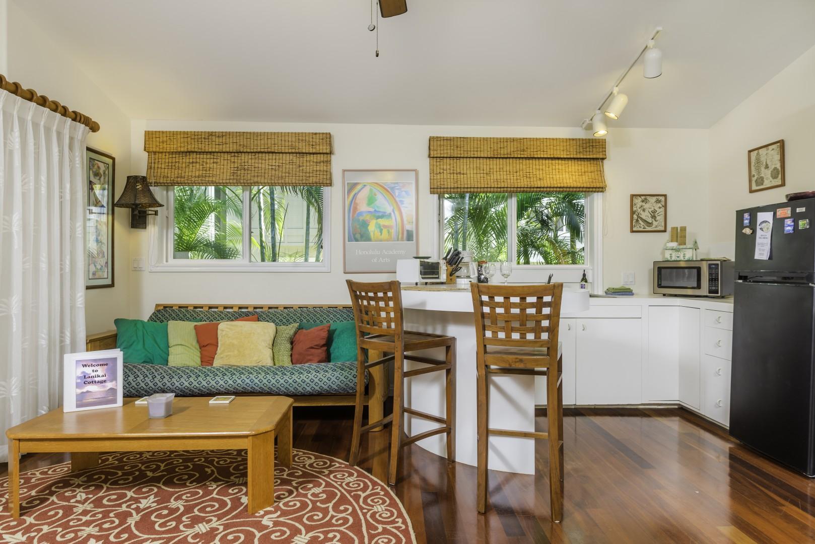 Lanikai Ohana Hale has everything you need for a comfortable vacation.