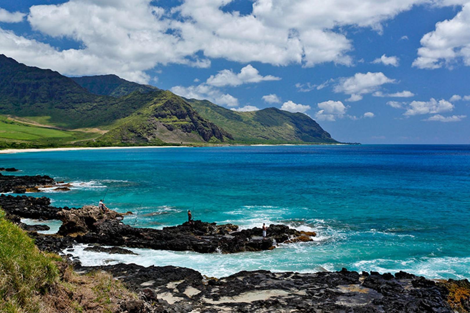 Majestic west side of Oahu.