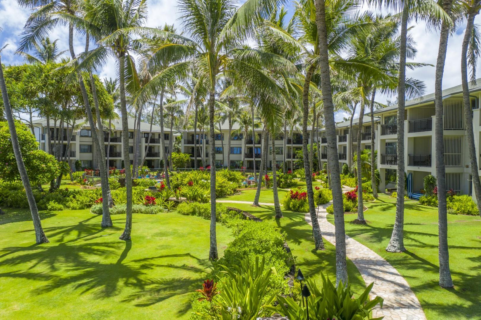 Ocean villa property view