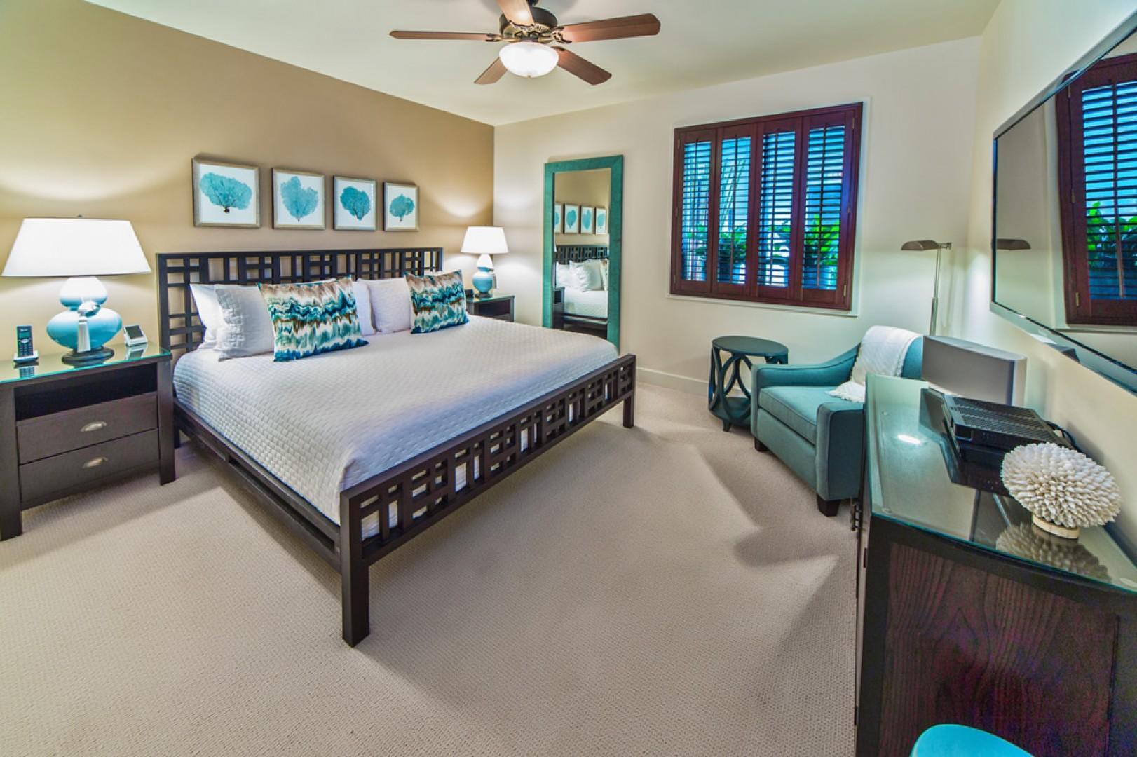 J505 Second Master King Bedroom Suite with an En-Suite Bath