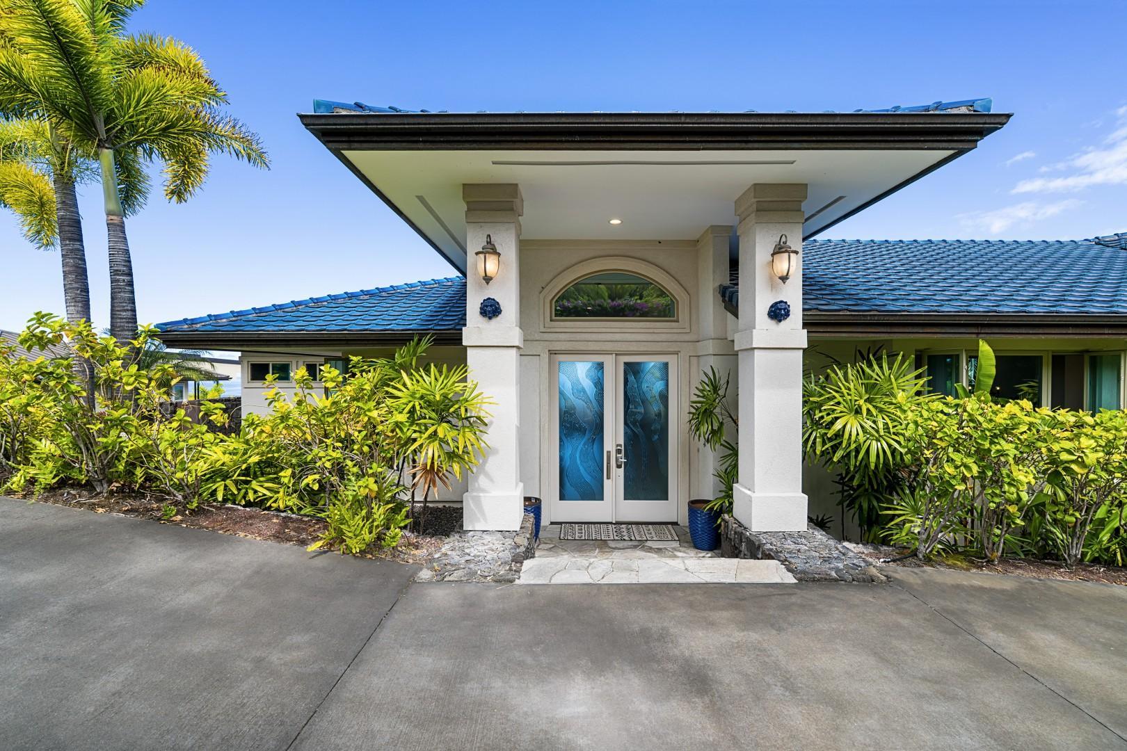 Entrance to Blue Hawaii