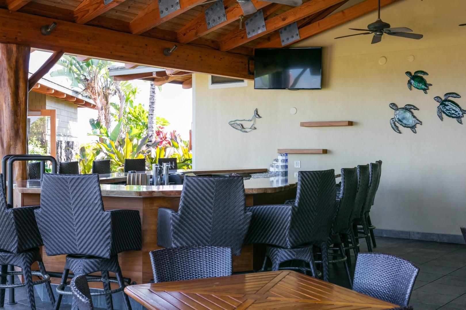 Enjoy lunch, happy hour or dinner here.