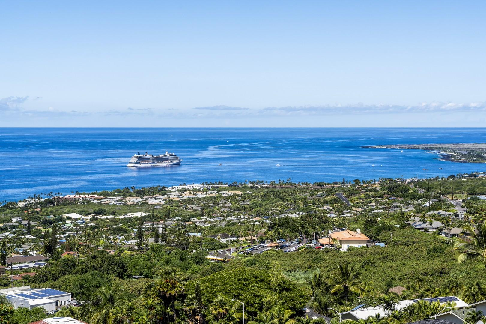 Panoramic views from the upstairs Lanai!