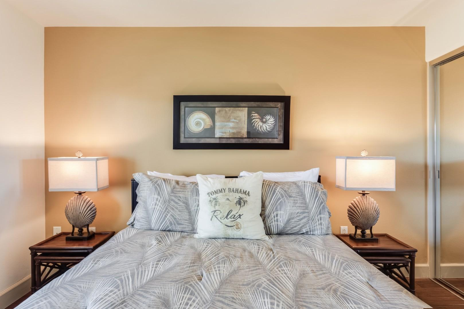 Upstairs guest bedroom 2