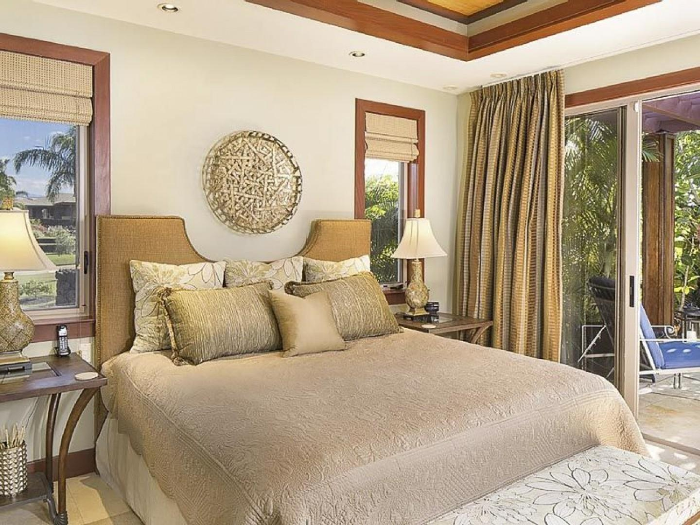 Guest Bedroom 1 with Large Private Lanai