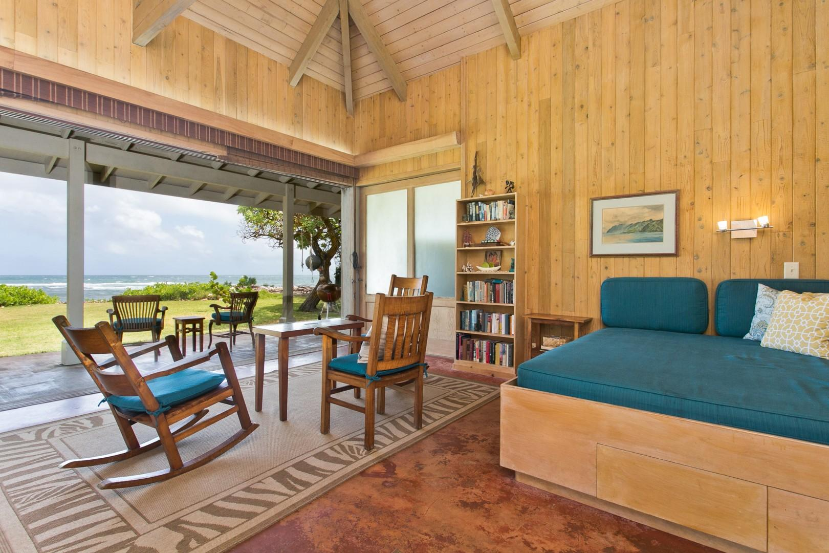 Relax with panoramic ocean views.