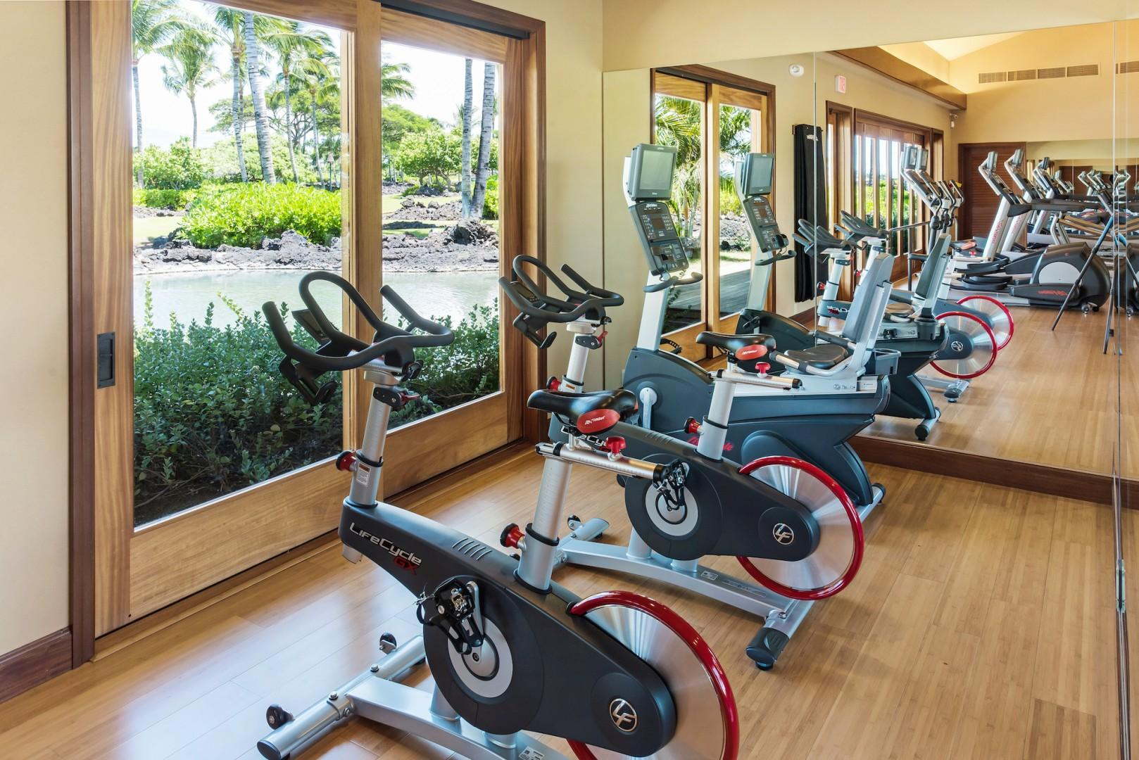 Stay Fit at the Community's Hana Pono Park Fitness Center