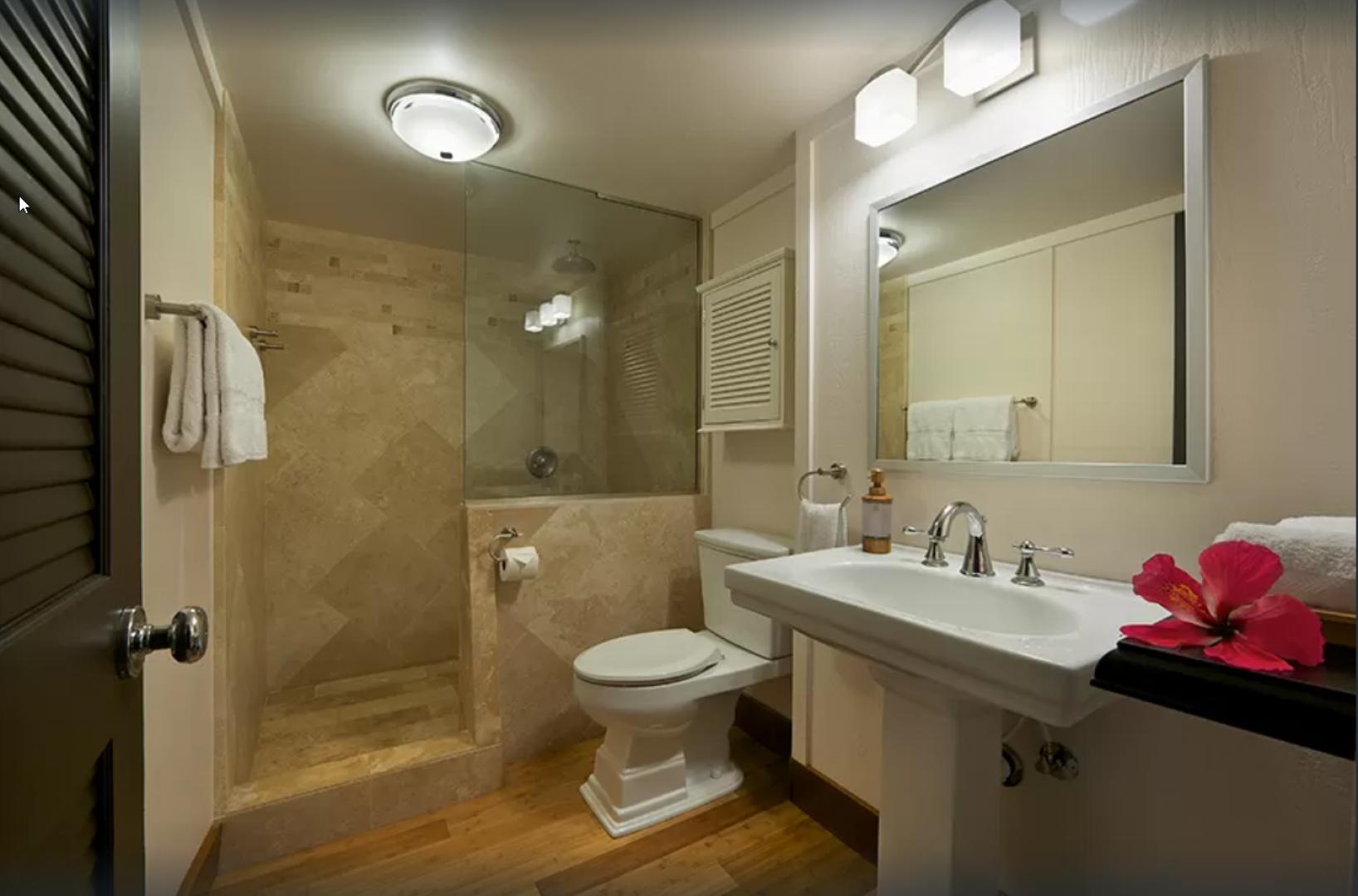 Downstairs main bathroom