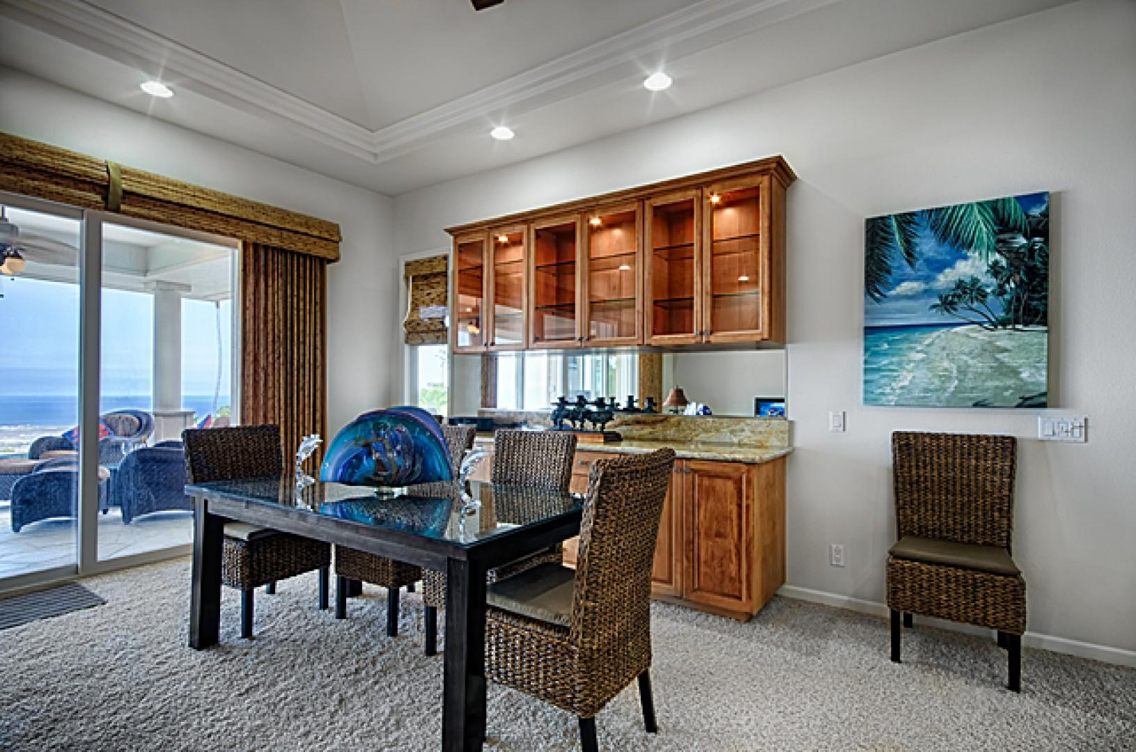 Enjoy dinner at home with style & privacy!