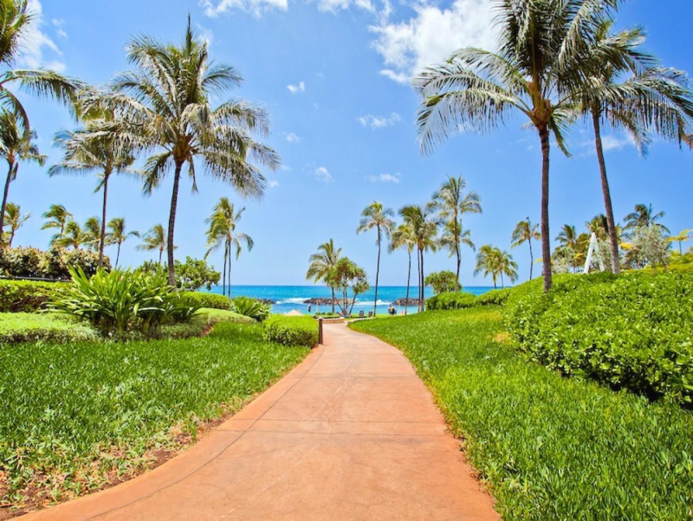 Walkway to lagoon 2