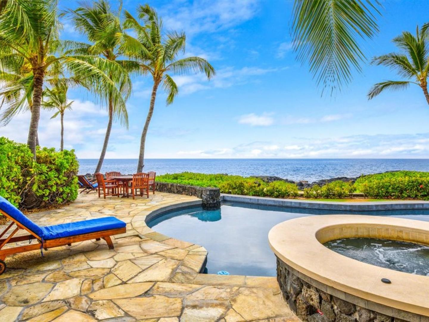 No better place imaginable to take in what the Big Island has to offer!