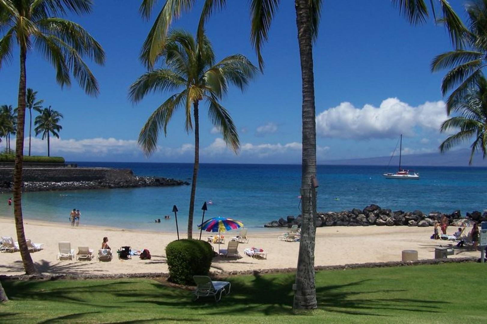Enjoy relaxing in the sun or shade or have lunch at Napua.