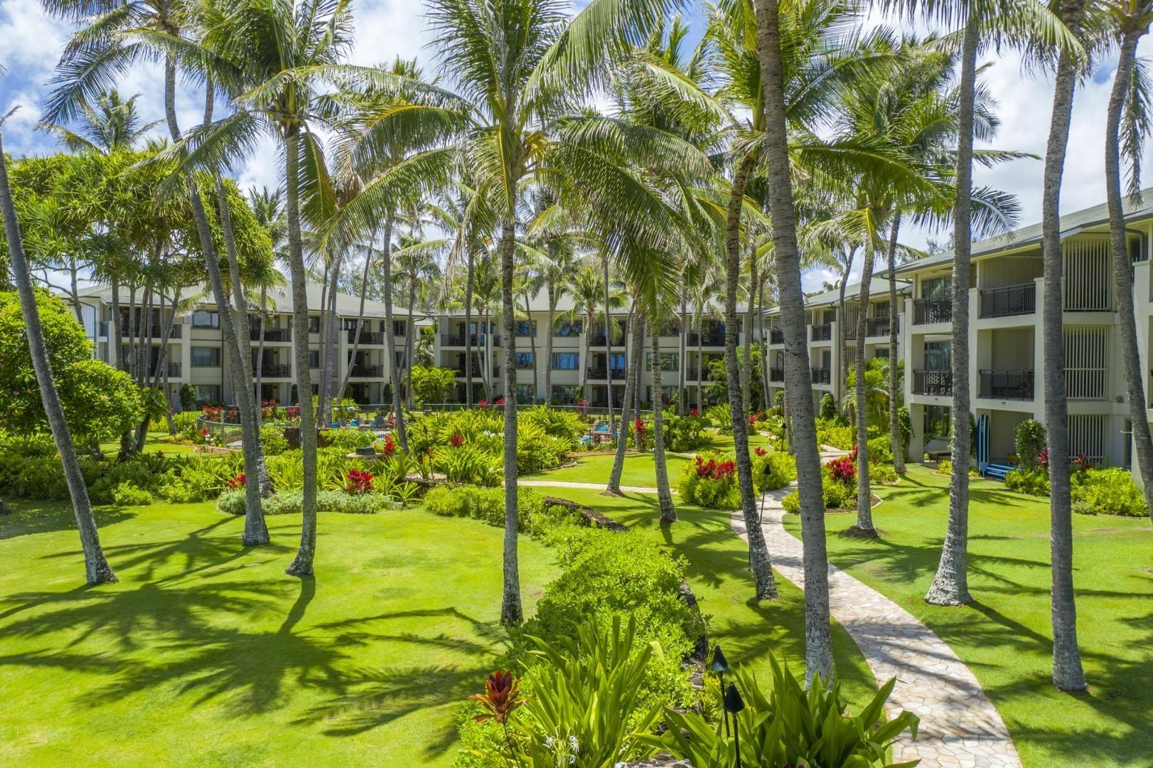 Ocean Villa grounds