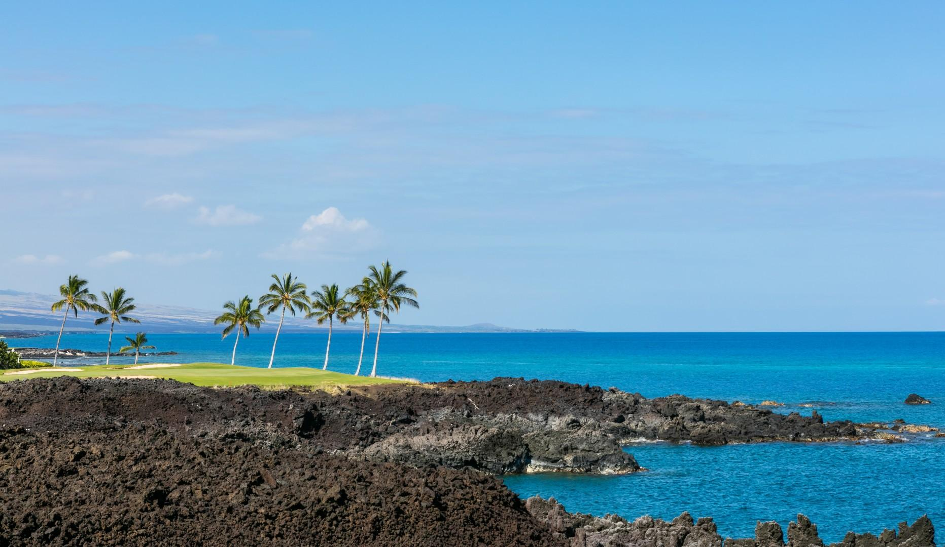 The coastline views from the resort are stunning. Nightly sunsets are enjoyed by all.
