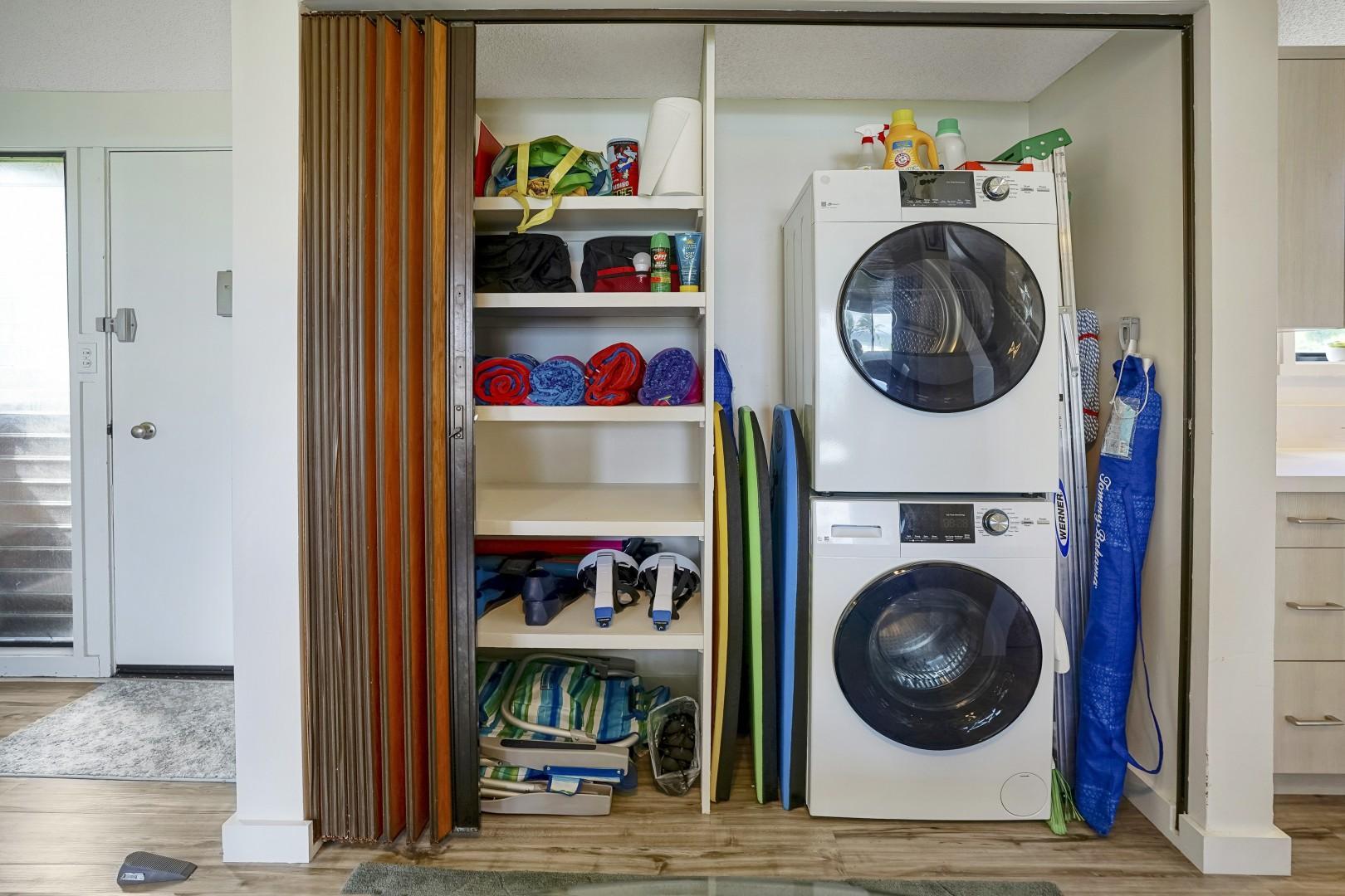 Indoor washer and dryer