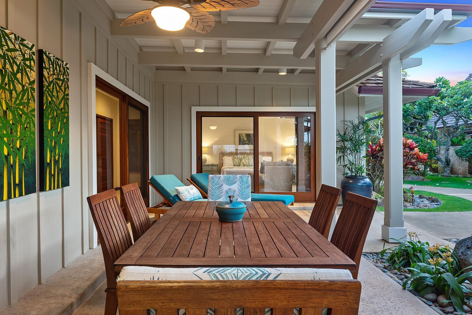 Beach House - Outdoor Dining
