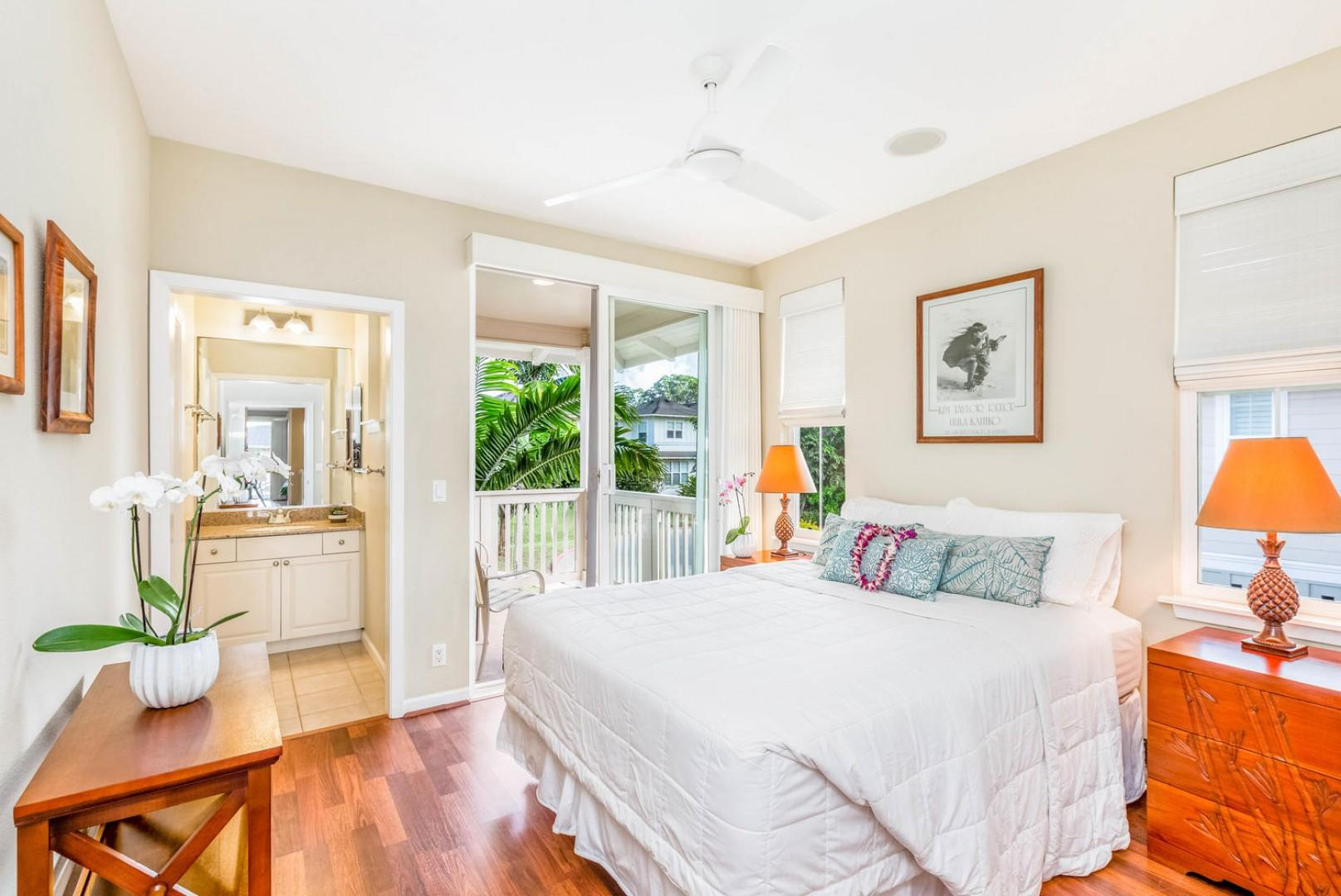 Guest Bedroom with Lanai