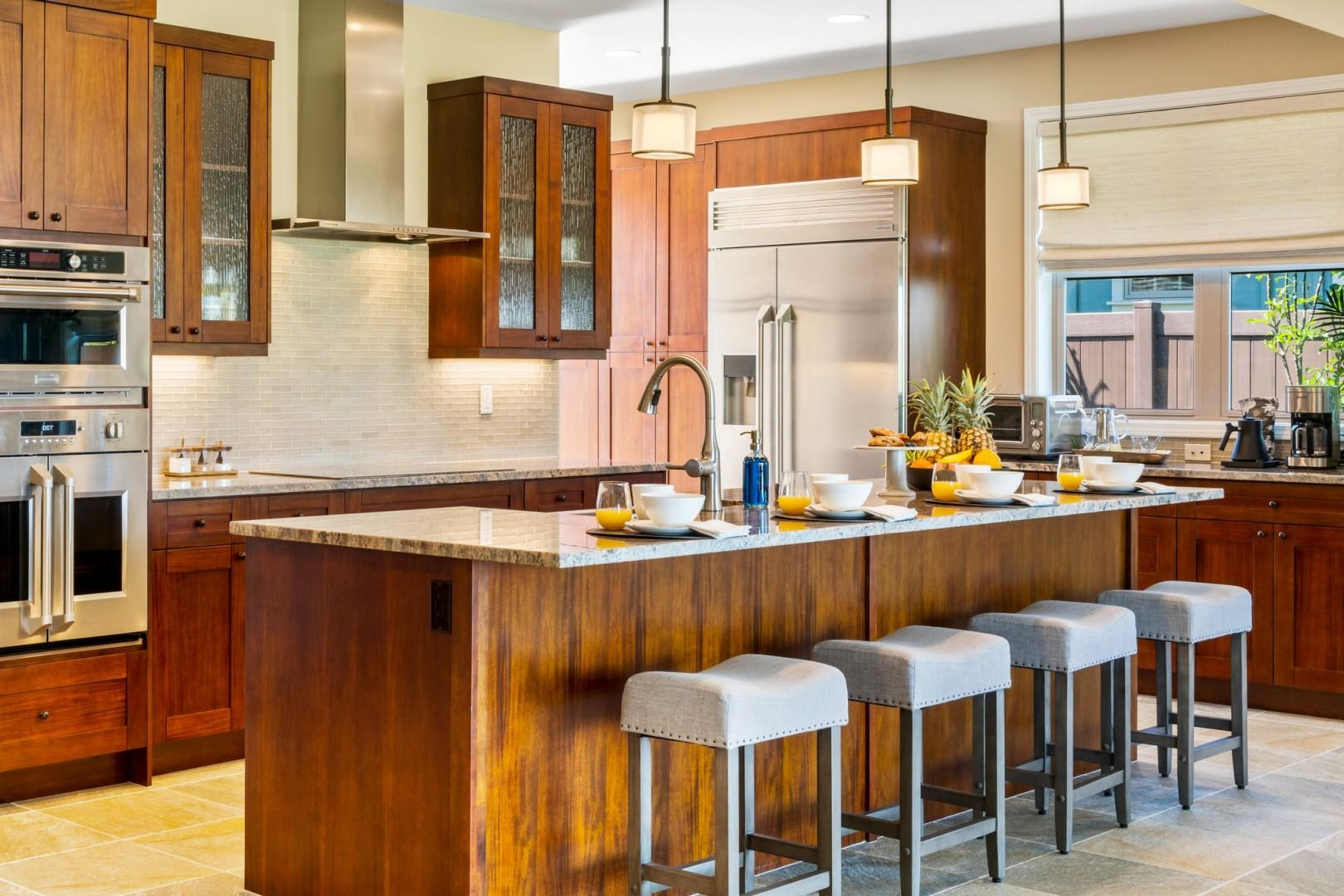 Embrace the chefs kitchen where all your needs will be met