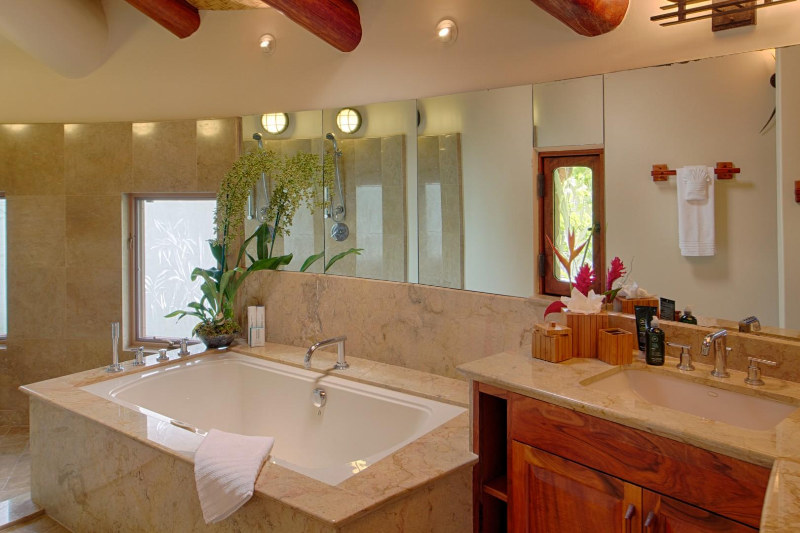 Master Bath in Main House