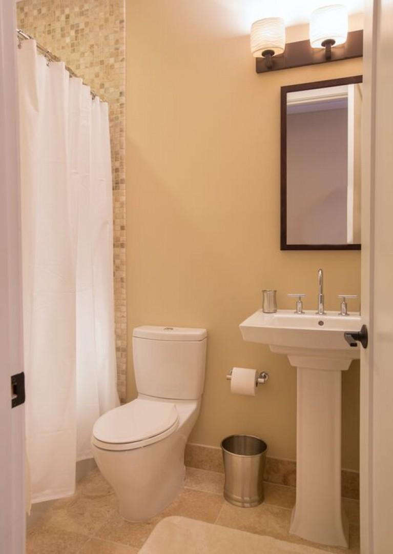 Third bathroom, located right outside third bedroom.