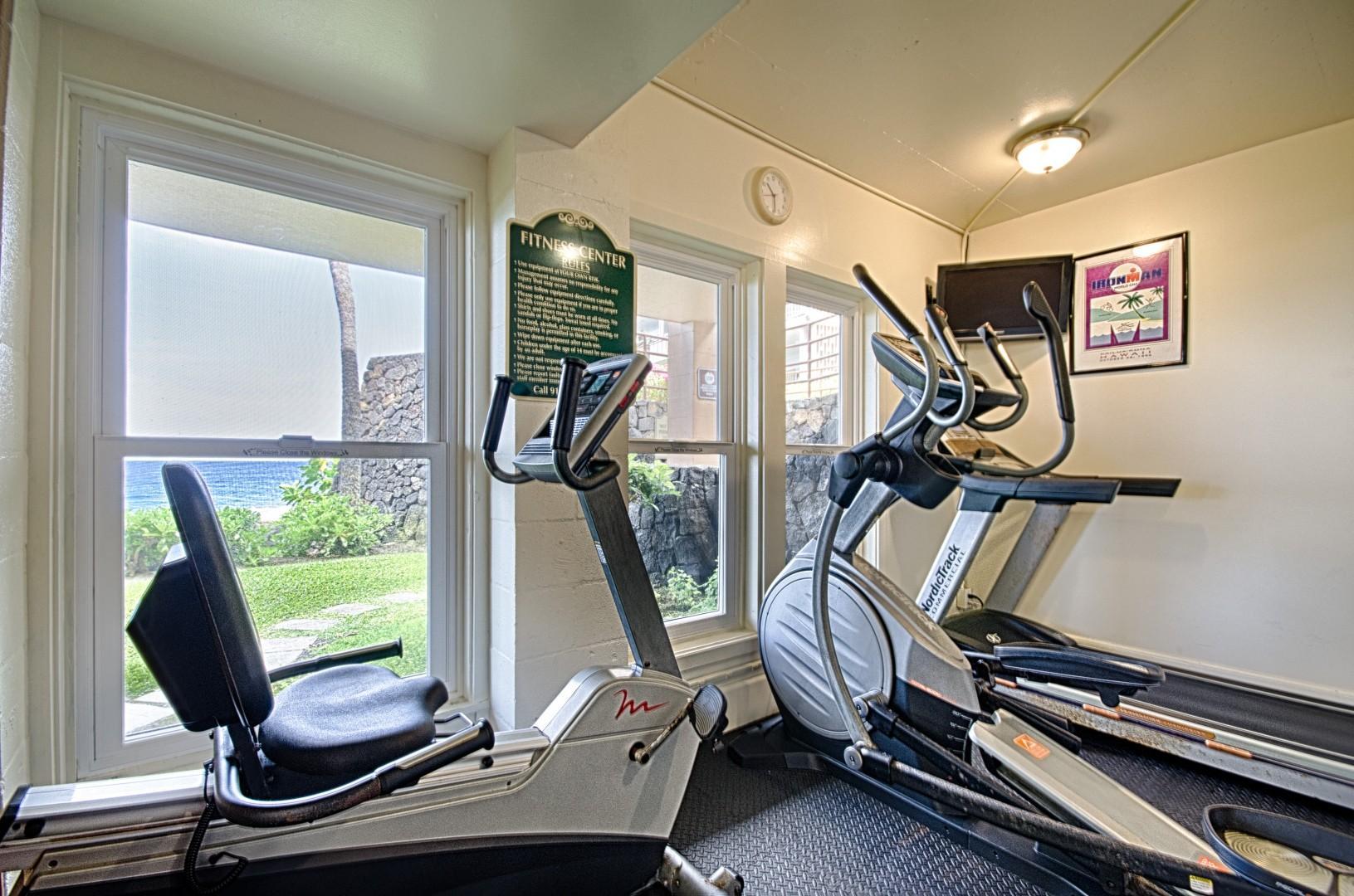 Kona Makai fitness room