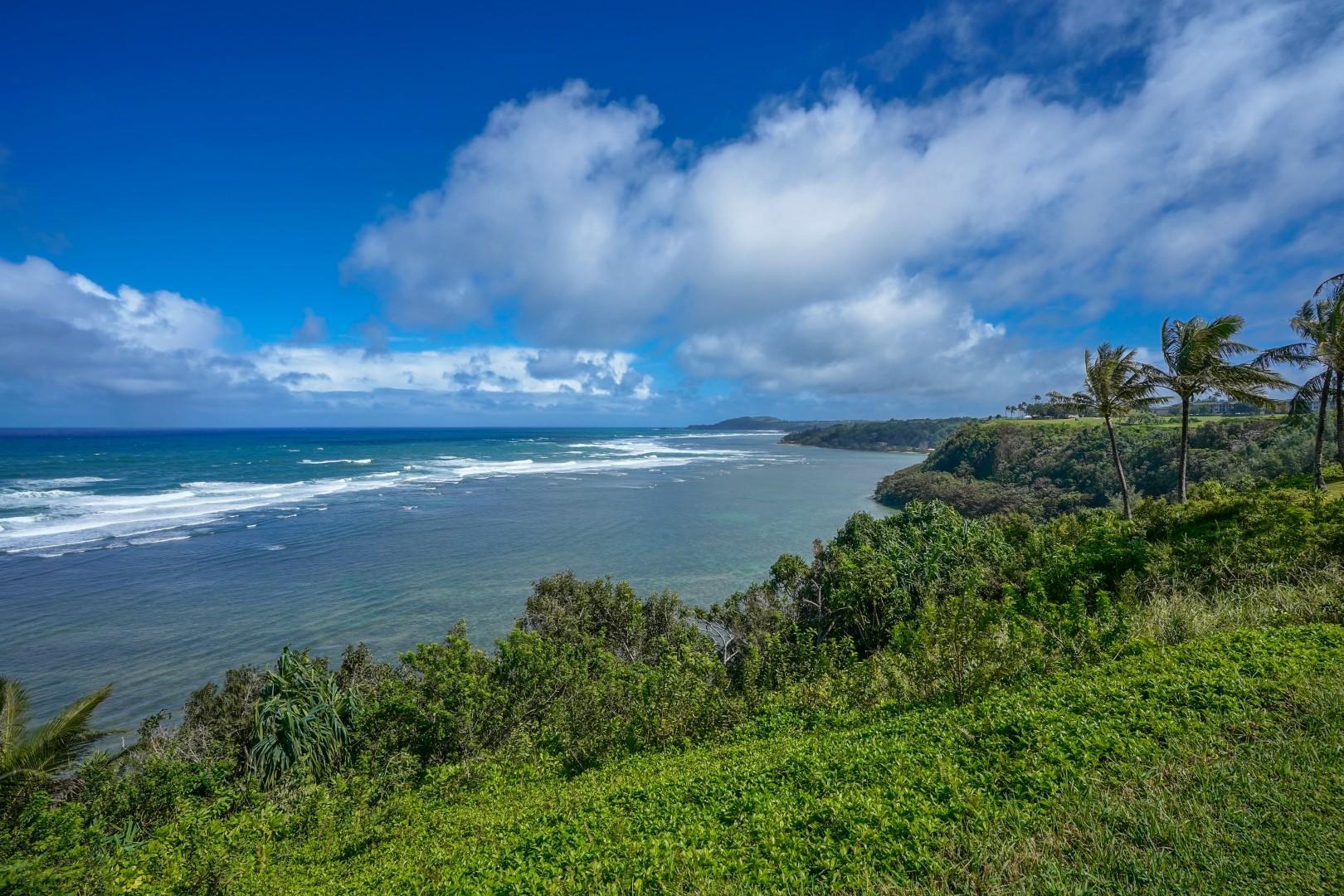 Cliffside, oceanfront property