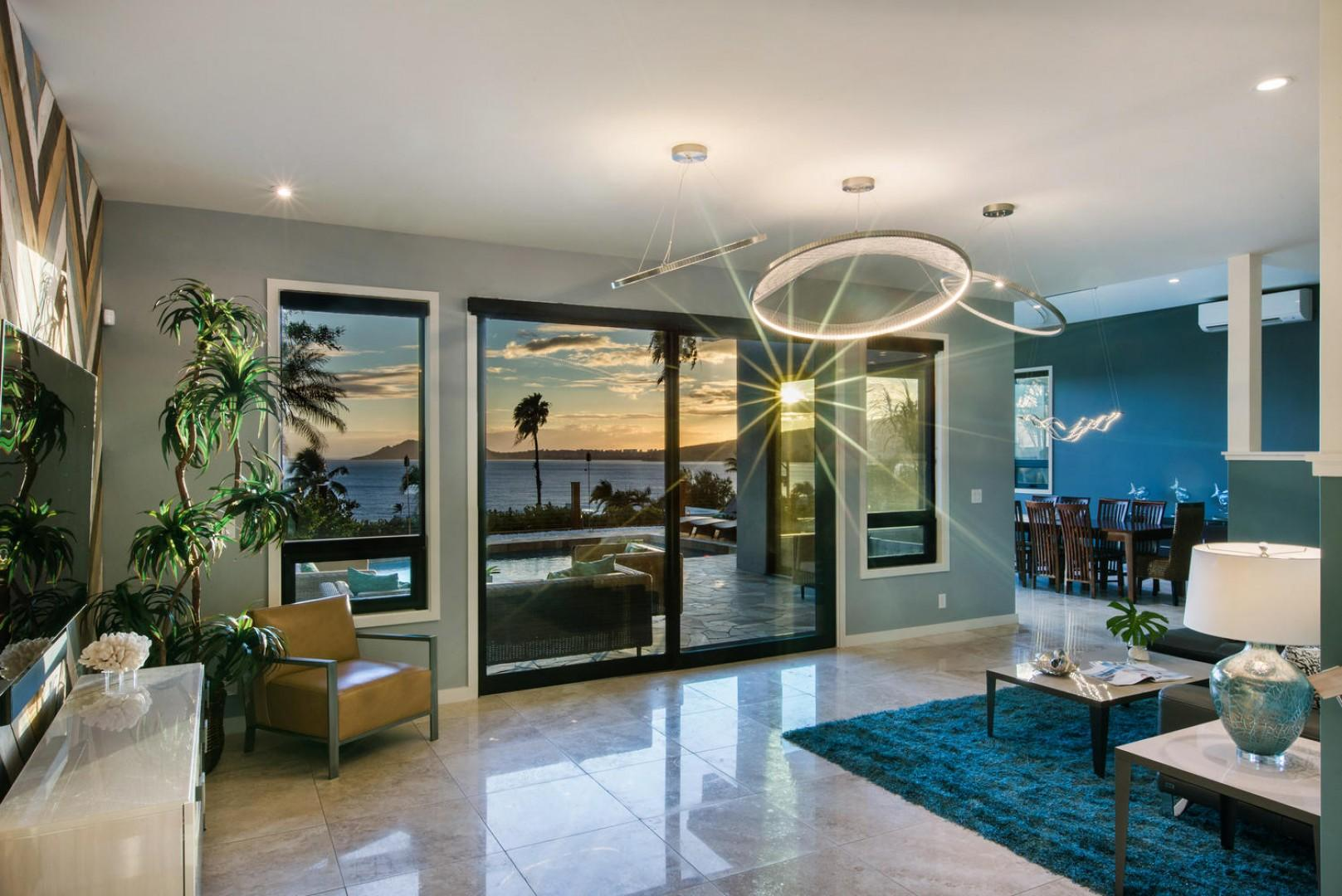 More breathtaking views form the front entry!
